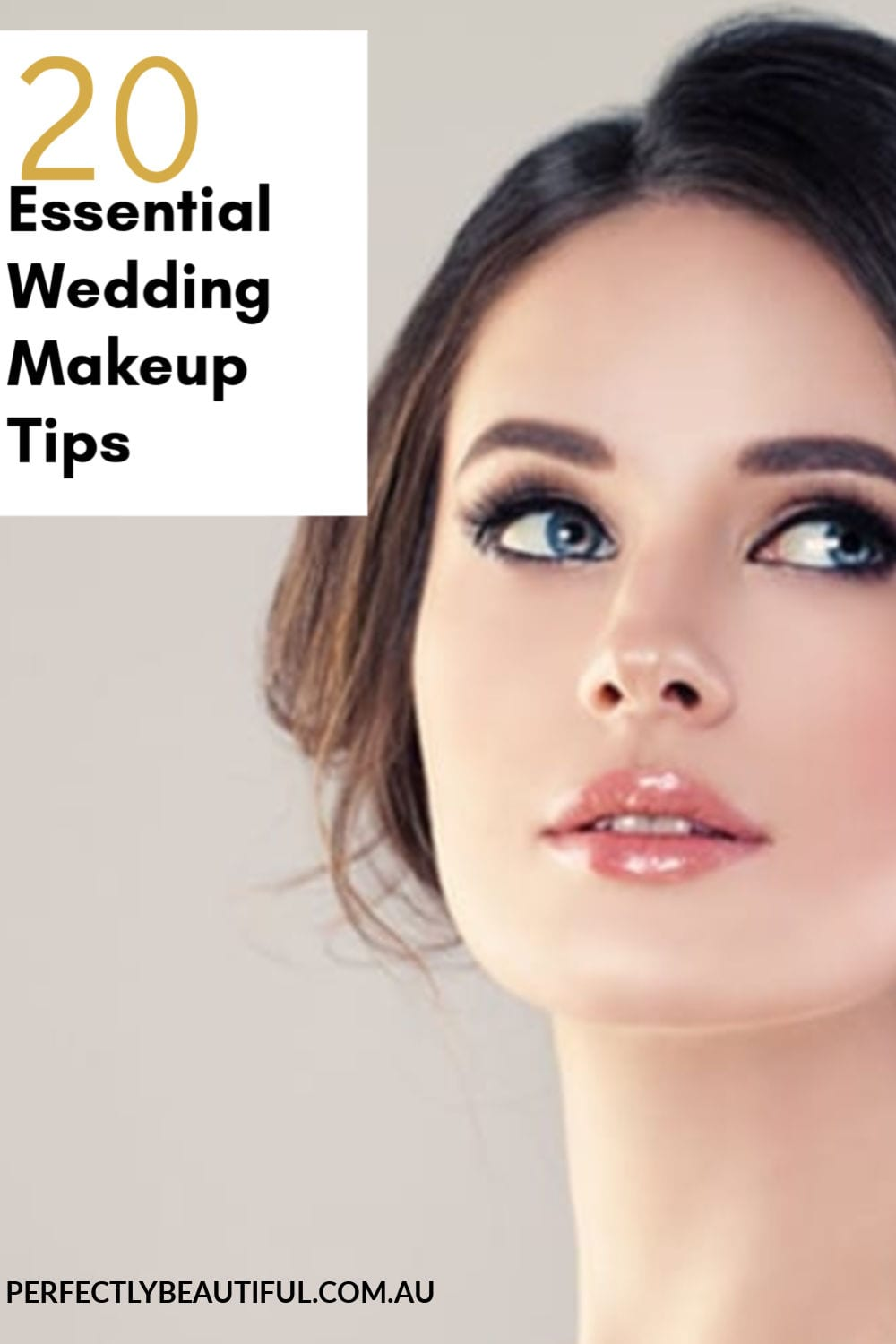 20 essential wedding makeup tips - perfectly beautiful