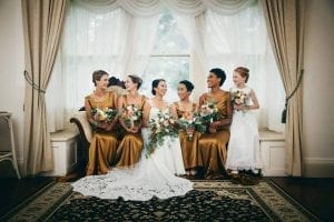 Bride and Bridesmaids makeup