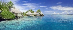 Honeymoon destination on the water
