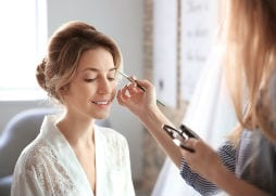 natural wedding hair and makeup looks