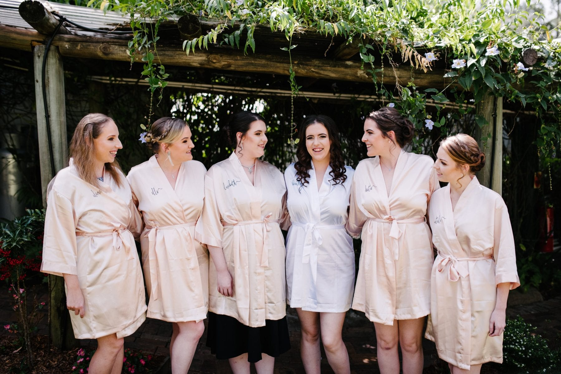 Be comfortable as a bridesmaid