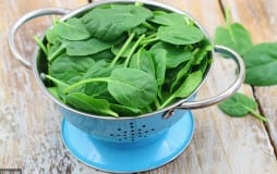 spinach for your skin