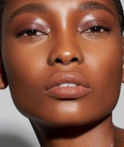 dewy bridal makeup look