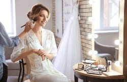 wedding makeup and hair trial